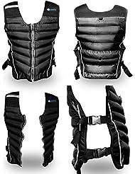 BodyRip Gilet lesté de qualité supérieure, noir, 5kg