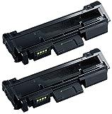 Prestige Cartridge MLT-D116L 2-er Pack Toner kompatibel für Samsung Xpress SL-M2625 M2625D M2626D M2675 M2675F M2675FN M2825 M2825DW M2825ND M2826 M2835DW M2875 M2875FD M2875FW M2875ND M2876 M2885FW