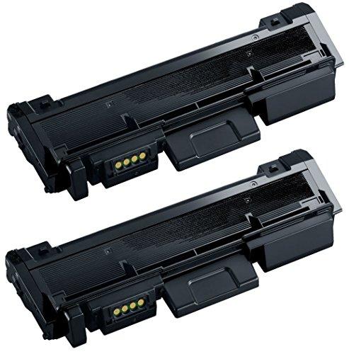 Prestige Cartridge MLT-D116L Kit 2 Toner compatibili per Samsung Xpress SL-M2625 / M2626 / M2675 / M2676 / M2825 / M2826 / M2835 / M2875 / M2876 / M2885  , nero, 2 Pezzi