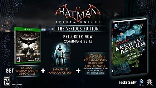 Batman: Arkham Knight - The Serious Edition (Comic Bundle) - Xbox One by Warner Brothers