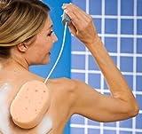 Rückenschwamm mit Flexi-Stiel Körperpflege Drogerie Gesundheit