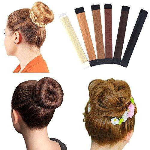 dutt hilfsmittel Haar-Twister für Duttfrisuren, 3 Stück