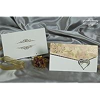 CristalPainting Hochzeitseinladungskarten Einladung Hochzeitseinladung Grusskarten, blanko ohne Text und Druck - selbst gestalten -