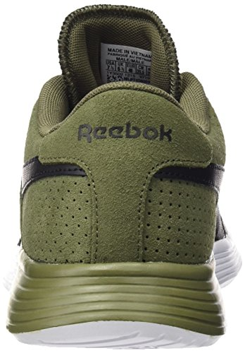 Reebok Royal EC Ride GFX, Chaussures de Running Entrainement Homme Vert / Blanc / Noir (Canopy Green / Sand Stone / Ash Grey / Black / W)