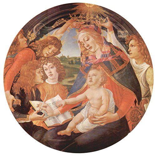 Die Museum Outlet-Madonna The Magnificent Botticelli-A3Poster -