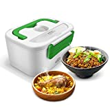 GHB Boîte Chauffante Lunch Box Chauffante Électrique Boîte Alimentaires Boîte Repas Plastique à Pique-nique