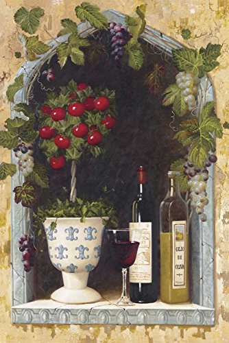 Welby - Olive Oil and Wine Arch II Kunstdruck (30,48 x 45,72 cm) - Olive Arch