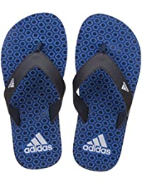 Adidas Boy's Beach Print Max Out Flip-Flops And House Slippers