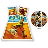 Tintin Desert Single Duvet Set Panel Print