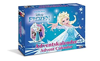 Craze 13885 Calendario de Adviento Disney Frozen por CRAZE