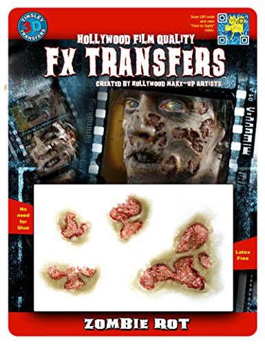 FX Transfers Zombie Series 3D FX Zombie Rot Make-up Kit