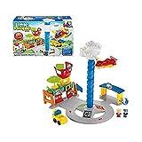 Fisher Price Toy  Little People  Spinnin's Sounds Spielset für Den Flughafen  Mit 2 Figuren