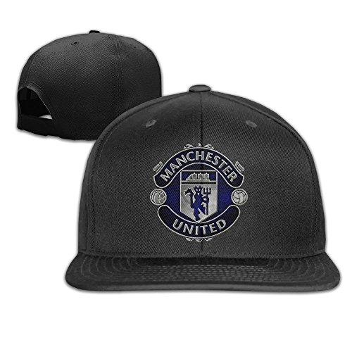 hittings-male-female-uefa-champions-league-manchester-united-logo-cotton-flat-berretto-da-baseball-a