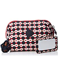 Kipling Inami M, Women's Cosmetic Bag, Multicolour (Shapemix), 8.5x16x12 cm (B x H T)