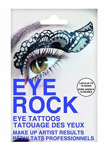 Eye Rock Tatouage temporaire imitation dentelle \\