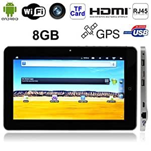 Gadget and Gift Ltd 10.1 inch Touch Screen Android 2.3 Version aPad Style Tablet PC with RJ45 Interface + WIFI + GPS Function, 1.3 Mega Pixels Camera, Support Mini HDMI Output, 8GB NAND Flash, 360 Degree Menu Rotate, CPU: Infotmic iMAPx210, 1.0GHz