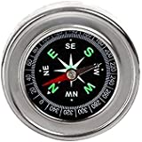 IMPRINT's High Quality Metal Magnetic Compass of approx 6 CM Outer Diameter