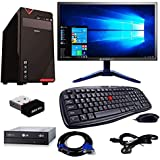 Rolltop Assembled Desktop Computer,Intel Core 2 Duo 3.0 GHZ Processor,G 31 Motherboard, 15.6 Inch LED Monitor 4 GB RAM,DVD R/W (500 GB)
