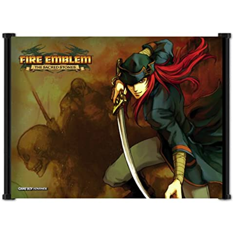 Fire Emblem Sacred Stones Game Fabric Wall Scroll Poster (21x16) Inches