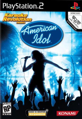 Karaoke Revolution: American Idol - PlayStation 2 Konami American Idol Games