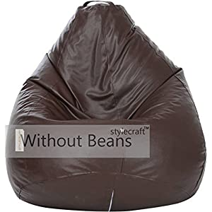 Stylecraft XXXL Bean Bags Without Beans (Brown)