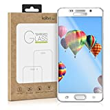 kalibri Samsung Galaxy A5 (2016) Folie - 3D Glas Handy Schutzfolie für Samsung Galaxy A5 (2016) - Auch für gewölbtes Display