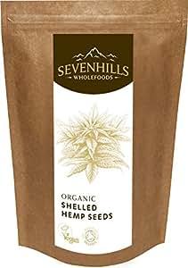 Sevenhills Wholefoods Organic Raw Shelled Hemp Seeds 300g
