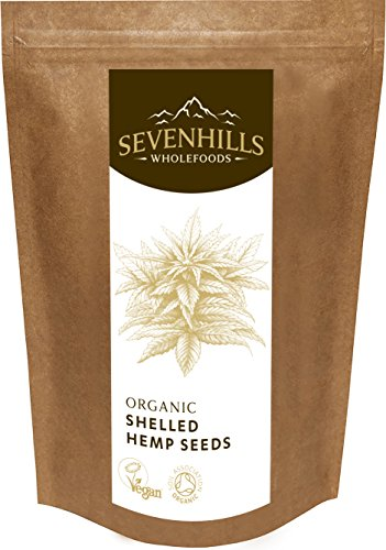 Sevenhills Wholefoods Organic Raw Shelled Hemp Seeds 1kg