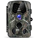 Victure Trail Camera with Night Vision Motion Activated Waterproof 12MP 1080P Game Camera