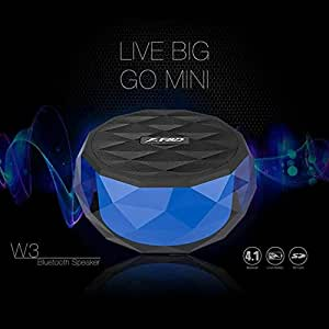 FD W3 Wireless Portable Bluetooth Speaker (Blue)