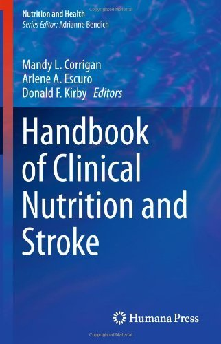Handbook of Clinical Nutrition and Stroke (Nutrition and Health) (2013-04-17) par Unknown