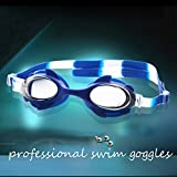 Generic as picture : Swimming Pool Accessories Baby Swim Goggles Water Fog Transparent Diving Glasses Professional Swimming Training Equipment