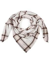 styleBREAKER Écharpe carrée XXL, grand plaid avec motif tartan écossais à  carreaux et franges, b06ec7dde83