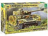 Zvezda 500783674 500783674-1:35 Panzer IV AUSF.G (Sd.Kfz.161) -Plastikbausatz-Modellbausatz-Zusammenbauen-Bausatz-für Einsteiger-detailliert, Camouflage