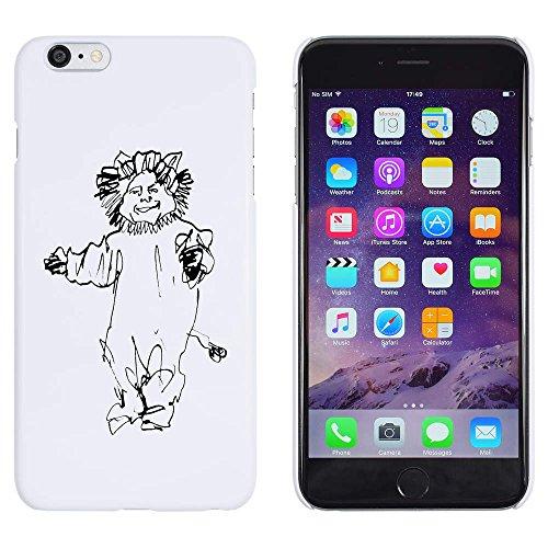 Weiß 'Löwe Kostüm' Hülle für iPhone 6 Plus & 6s Plus (MC00146966)