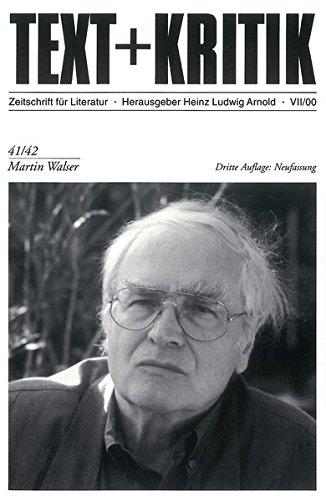Martin Walser (Text + Kritik)