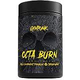 GYMPUNK Octaburn | 120 Kapseln Fat-burner – extrem wirksam | bequem Abnehmen...
