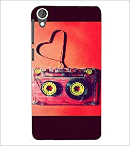 PrintDhaba Funny Image D-3960 Back Case Cover for HTC DESIRE 820 (Multi-Coloured)