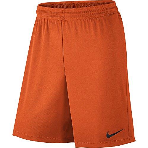 Nike Park II Knit pantaloncini con slip interni, Uomo, Park II Knit Shorts mit Innenslip, Arancione/nero, M