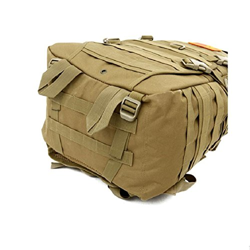 LF&F Hochwertige Camping-MilitäRischen Taktischen Rucksack Outdoor-Angriff Rucksack Bergsteigen Tasche Wandern Radfahren Angeln GepäCk Tasche 40L KapazitäT Schultertasche Handtasche B