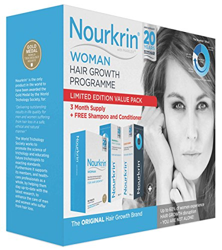 Nourkrin Woman Value Pack with free Shampoo and Conditioner