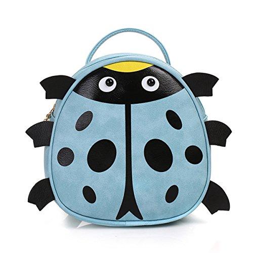 Red Ladybird poli/éster dise/ño de Stitch Eco Shopping Grocery bolsa de viaje plegable con clip JJOnlineStore/ /Portable Bolsa de la compra reutilizable rosso