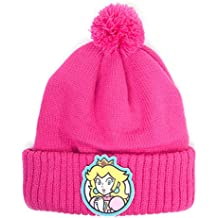 Super Mario kc083090ntn Nintendo Princesa Peach–Gorro (Talla única)