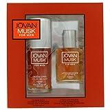 JOVAN MUSK by Jovan - Gift Set -- 2 oz Cologne Spray + 2 oz After Shave/ Cologne JOVAN MUSK by Jova