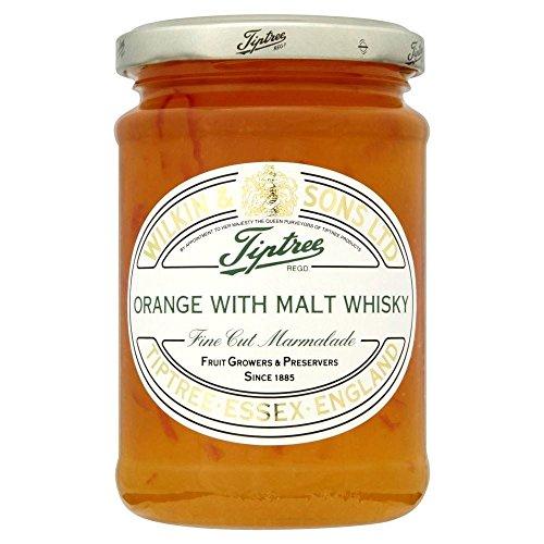 Marmelade D'Orange Avec Du Whisky De Malt Tiptree Coupe Fine (340G)