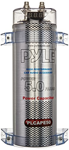 Pyle PLCAPE50 5.0 Farad Digital Power Kondensator Power-kondensator
