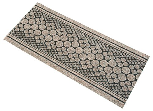 Dandy corcho Extra largo resistente de pasillo, fibra de polipropileno, beige, 300x 67x 0,5cm