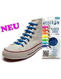 Shoeps SKY BLUE Lacets Élastiques Sacs & Accessoires