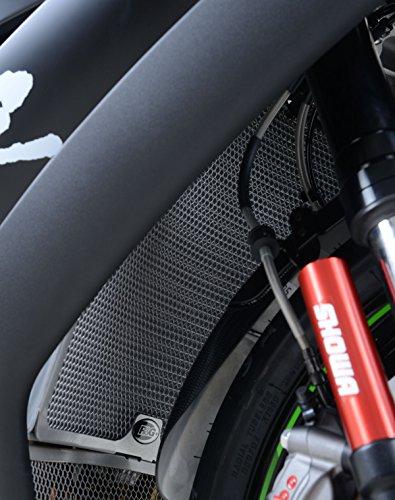 R&G Racing griglia del radiatore-verde-Kawasaki ZX10R '08-' 16
