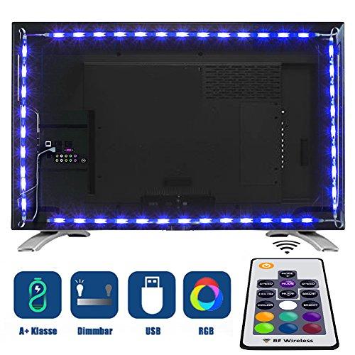Casa tobbi TV Fondo, regleta televisor 2Metros RGB